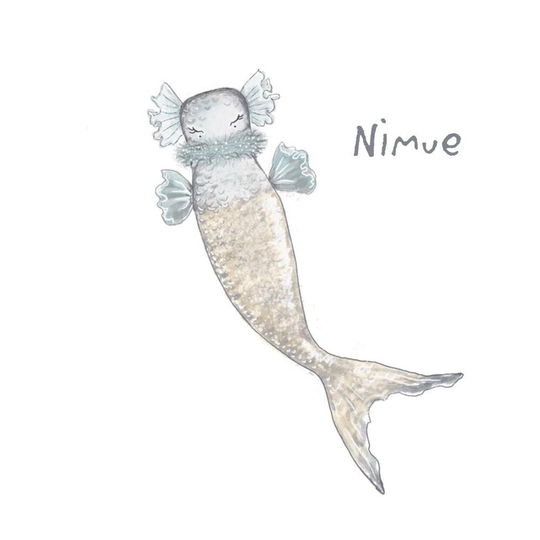 Wall Decal - Pixie - 'Nimue'