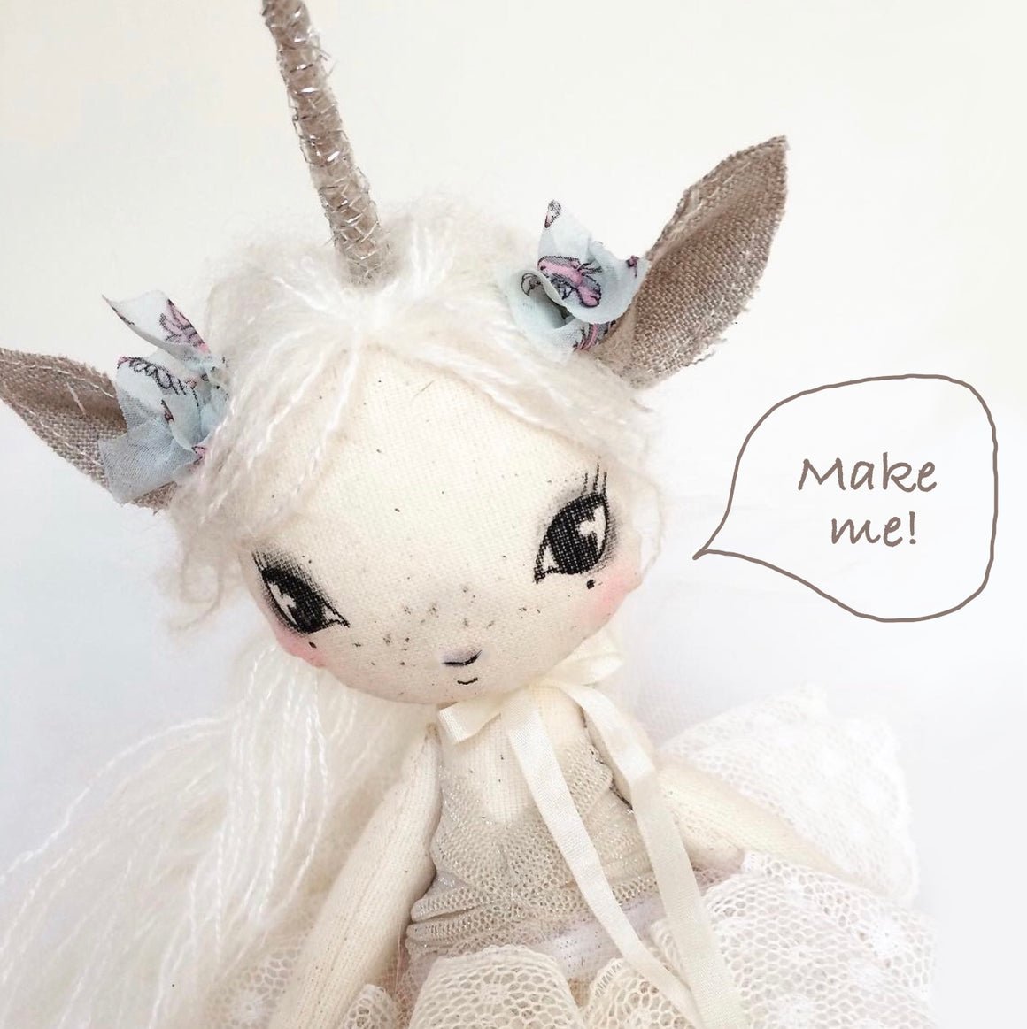 Little Lola Unicorn DIY Doll Kit