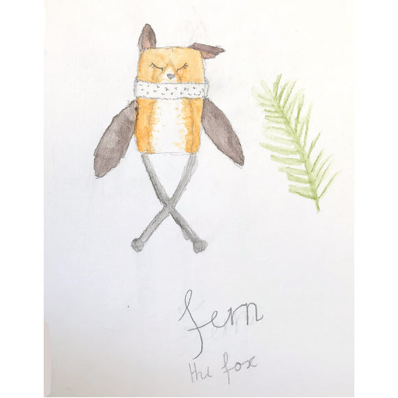 Collectible Wish Pixie - June 2020 'Fern the Fox'