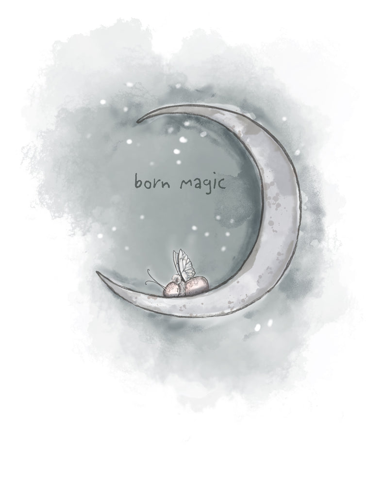 Fabric Wall Art - 'Born Magic' - PRE-ORDER