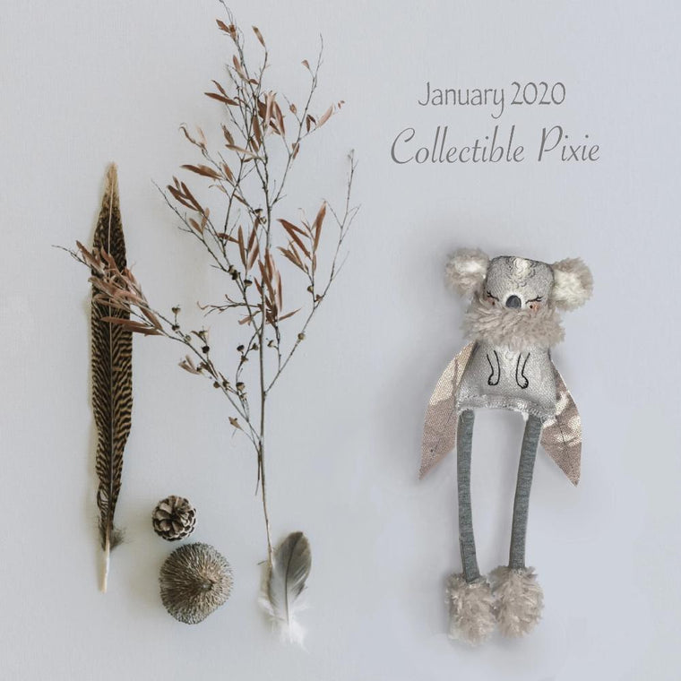 Collectible Wish Pixie - 'January 20'