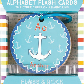A For Anchor / Alphabet Flash Cards