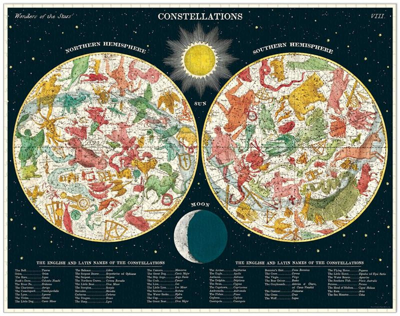 Constellations 1000 Pce - Vintage Puzzle