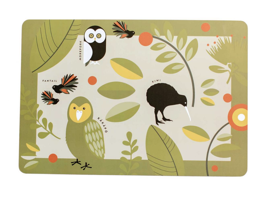 Birds Of NZ Placemat