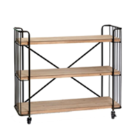 Albert Bakers Rack w/ Wheels