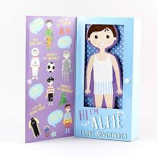 Alfie Magnetic Dress Up Character