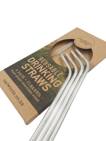 Drinking Straws 4 Pack