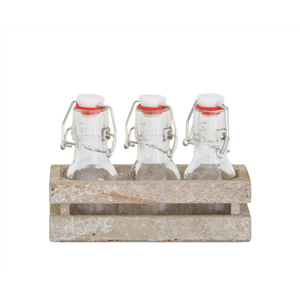 Clip Top Bottle 3PC