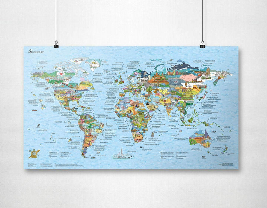 Awesome Maps - Bucket List