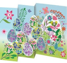 Egg Pile Tri Fold Easter Card