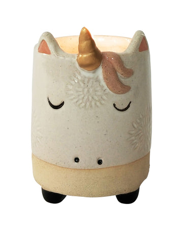 Unicorn Soy Candle White & Sand