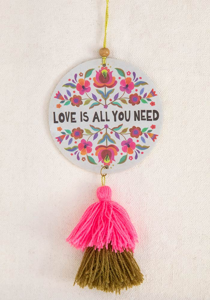 Air Freshener Tassel - Love Is All You Need