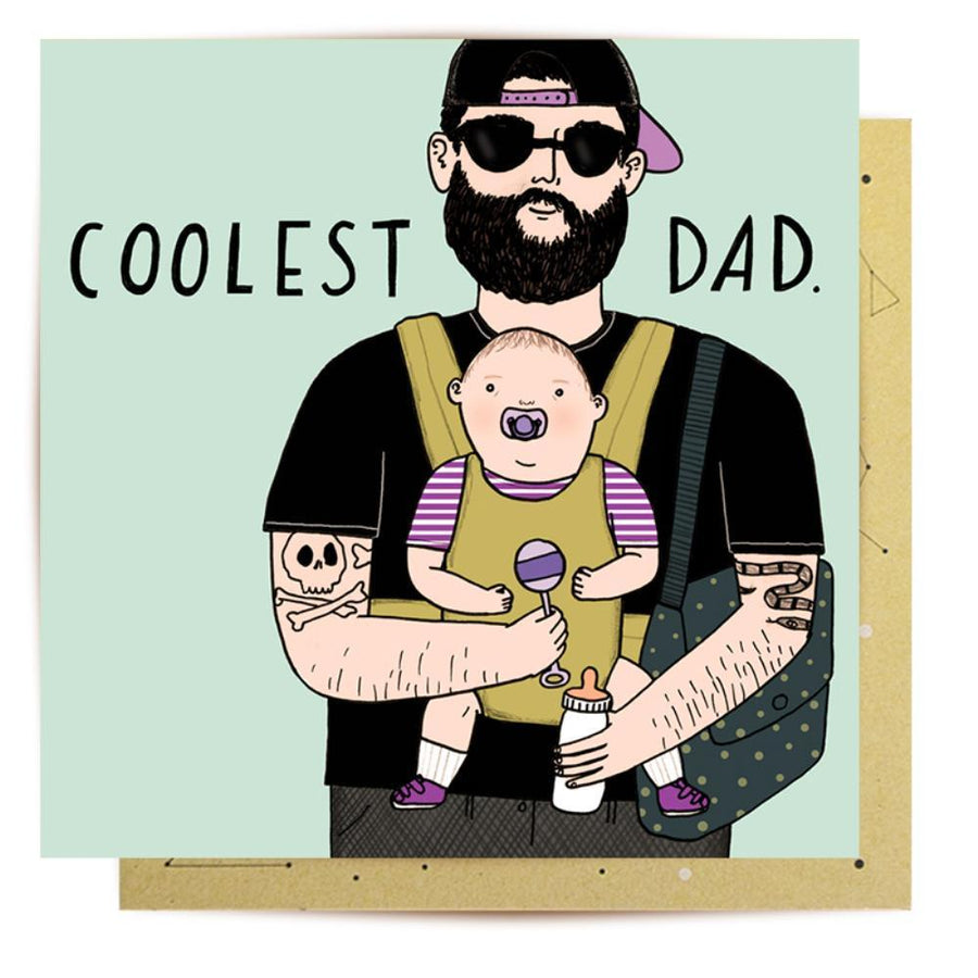 Coolest Dad Card