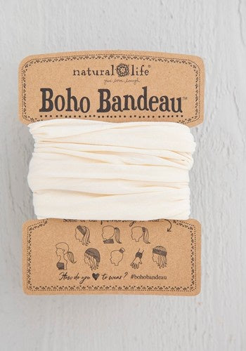 Boho Bandeau - Solid Cream