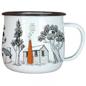Enamel Mug / Back Country Huts