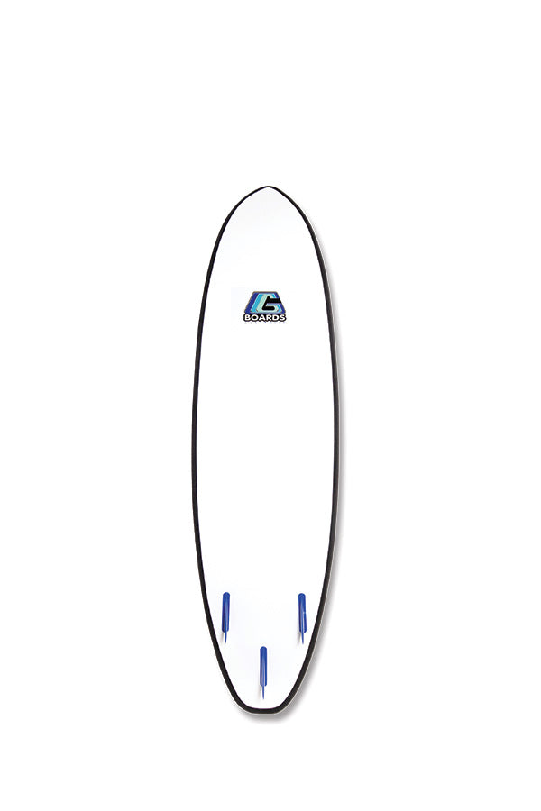 GBOARD ORIGINAL - LEARN TO SURF SOFTBOARD 6'6