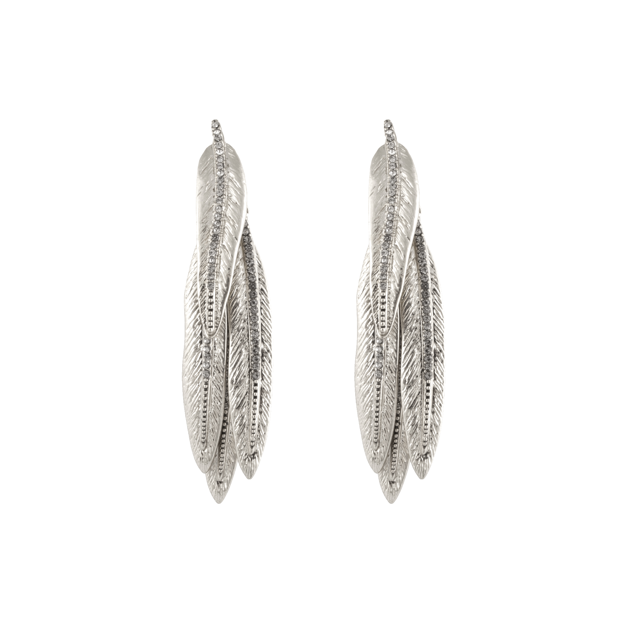 Silver Cedro Dangle Earrings