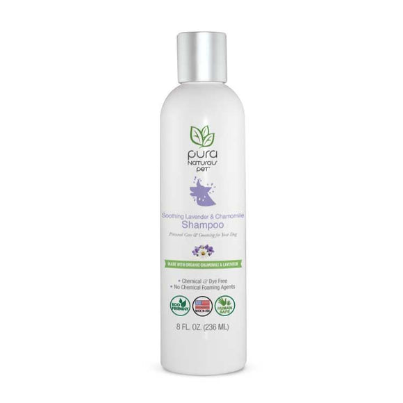 Soothing Chamomile and Lavender Shampoo