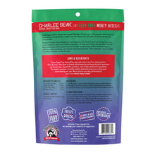 Load image into Gallery viewer, Charlee Bear Lamb & Blueberries Meaty Bites Freeze Dried Dog Treats, 2.5oz Bag