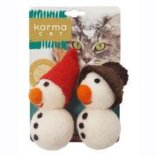 Load image into Gallery viewer, Cat Toy, Snowmen