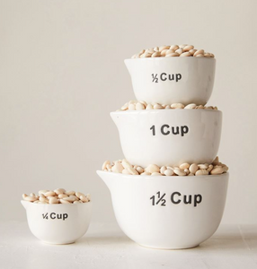 Typography Measuring Cup