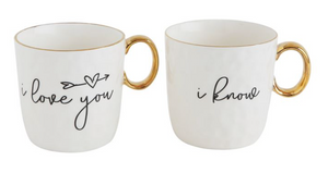 Sweetheart Mugs- SET