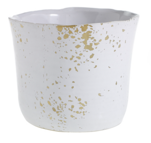 Gold Speckle Pot- Small