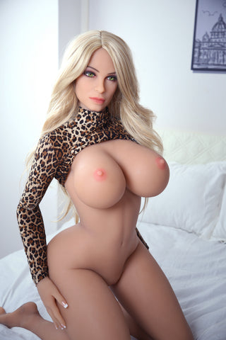 Ashley: Curvy Big Breasted Blonde Bombshell