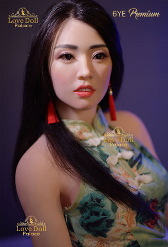 Ming Mei  (Hybrid Sex Doll: Silicone Head & TPE Body)