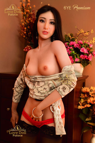 Monica (Hybrid Sex Doll: Silicone Head & TPE Body)