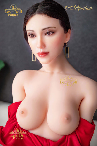 Lilja (Hybrid Sex Doll: Silicone Head & TPE Body)