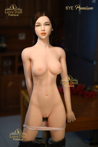 Janelle  (Hybrid Sex Doll: Silicone Head & TPE Body)