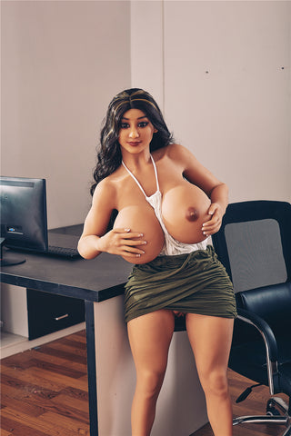 JoJo: Slutty Busty Secretary with Big Booty