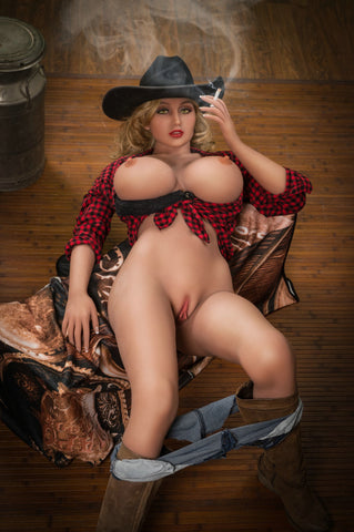 Faith: Busty Blonde Country Girl