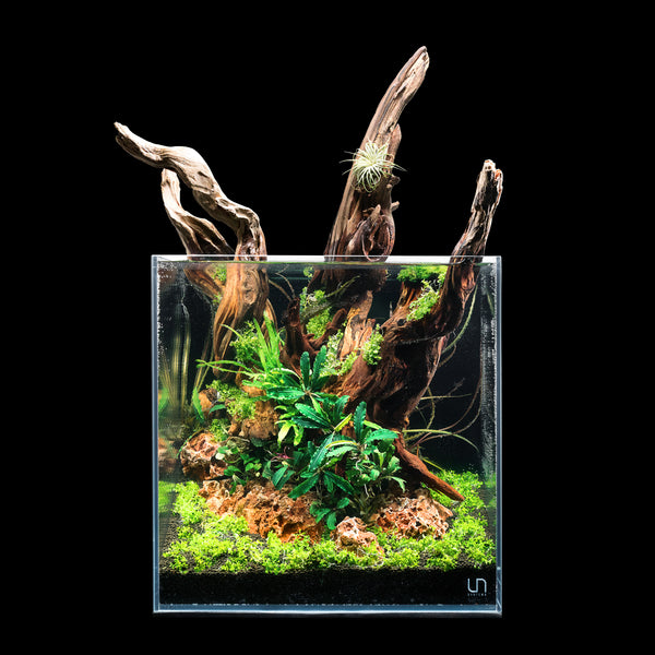 Ultum Nature Systems All-In-One 30C Cube Glass Aquarium Tank