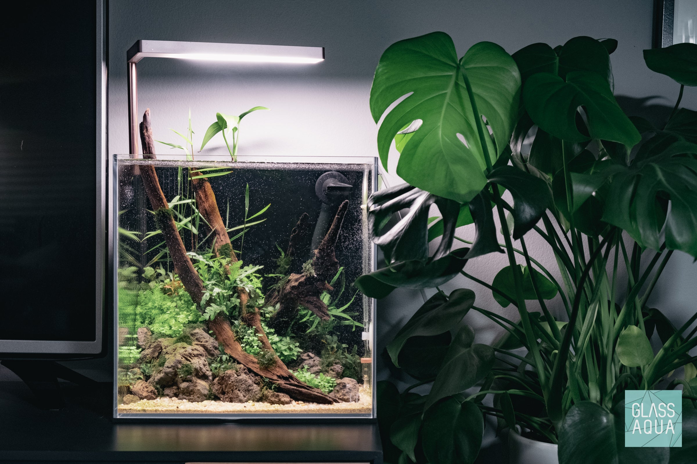 Ultum Nature Systems 30C Cube All-In-One Nano Planted Tank Aquarium