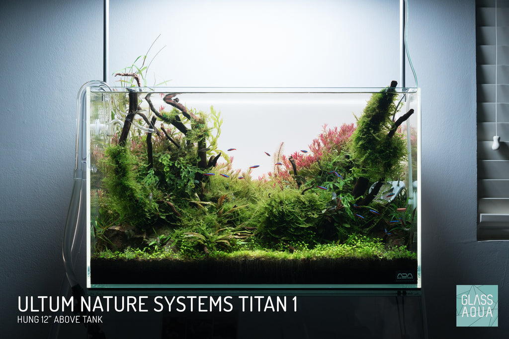 Ultum Nature Systems Titan 1 RGB LED Light Planted Aquarium Tank