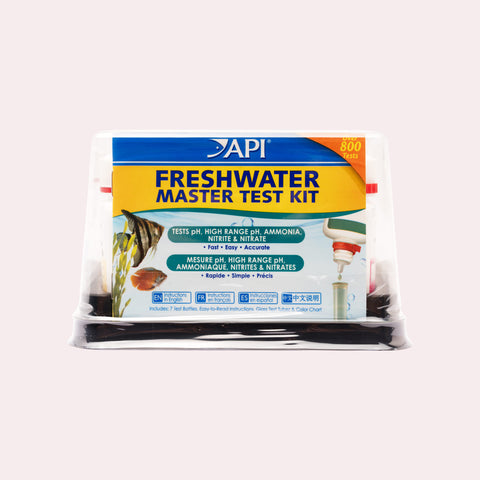 Shop API Freshwater Master Test Kit Treatment - Glass Aqua