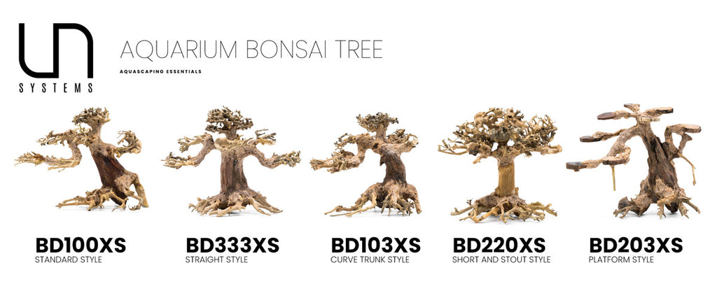 Shop Bonsai Tree Driftwood Extra Small Hardscape - Glass Aqua