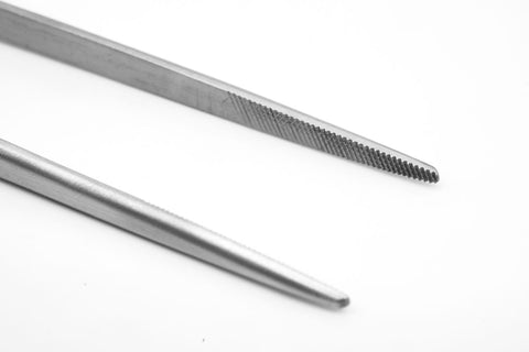 "Grip Tweezers 9"" Stainless Steel Aquascaping Tool"