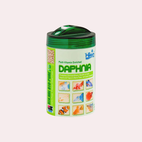 Shop Hikari Freeze Dried Daphnia Food - Glass Aqua