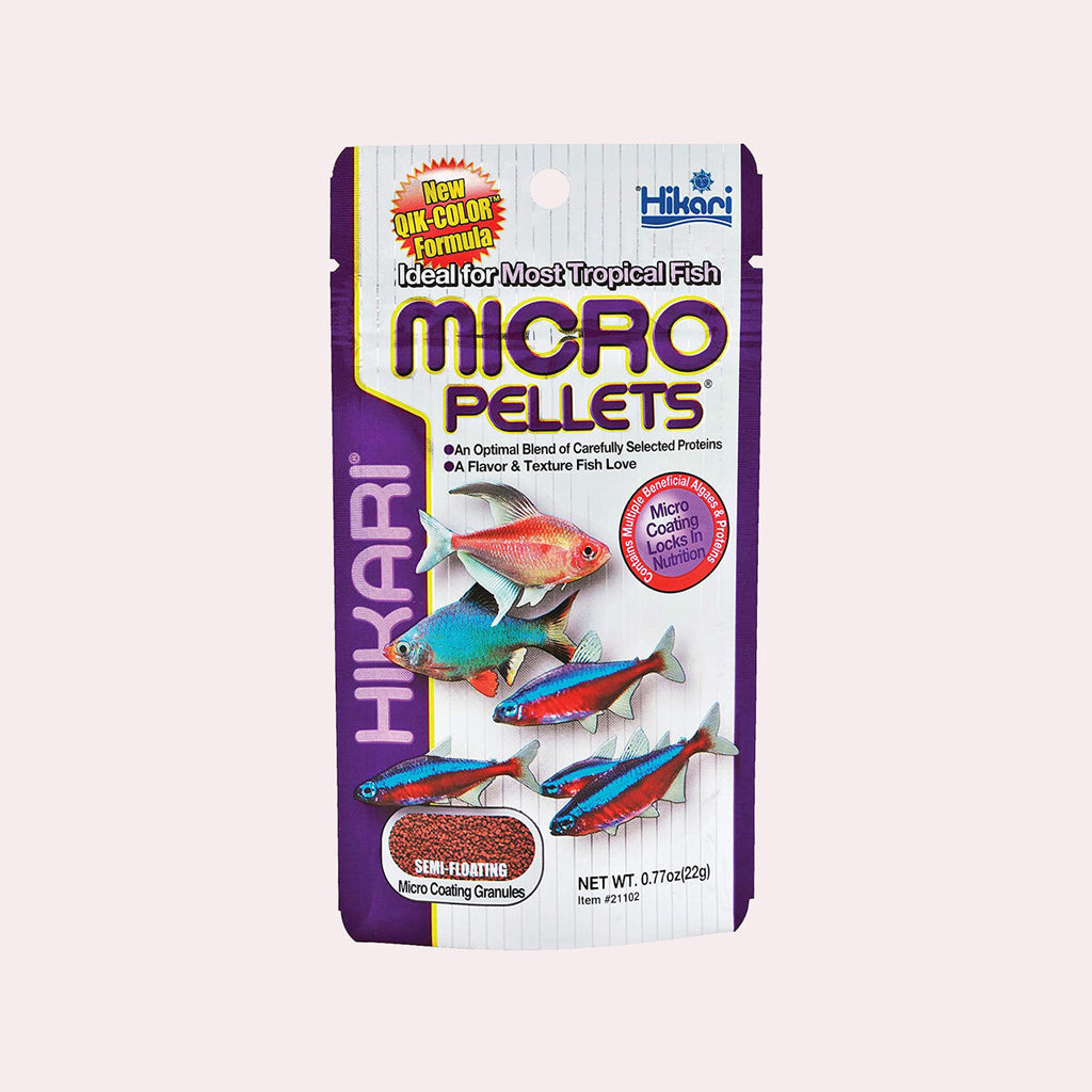 Hikari Micro Pellets for Tetras and Tropical Fish