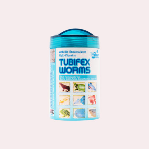 Shop Hikari Freeze Dried Tubifex Worms Food - Glass Aqua