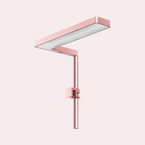 Shop ONF Flat Nano LED Light - Rose Gold Lighting - Glass Aqua