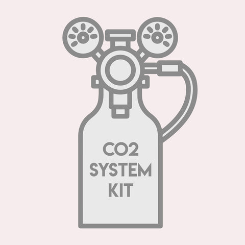 Shop Advanced CO2 Kit CO2 - Glass Aqua