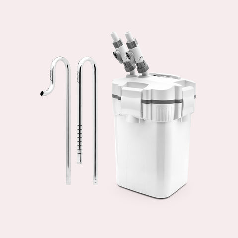 Shop UNS Delta 120 Canister Filter and Stainless Steel Lily Pipe Bundle Bundles and Kits - Glass Aqua