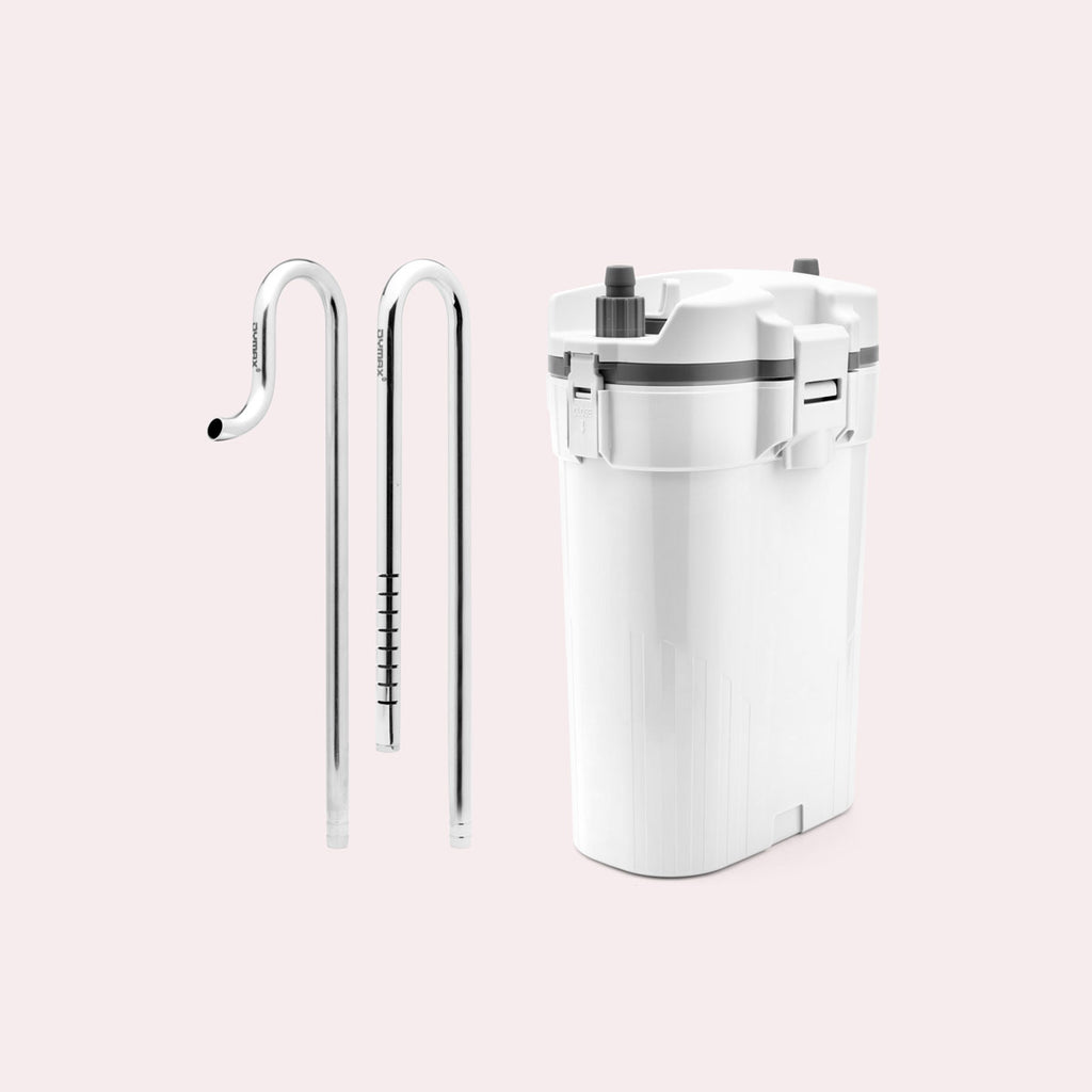 Shop UNS Delta 60 Canister Filter and Stainless Steel Lily Pipe Bundle Bundles and Kits - Glass Aqua
