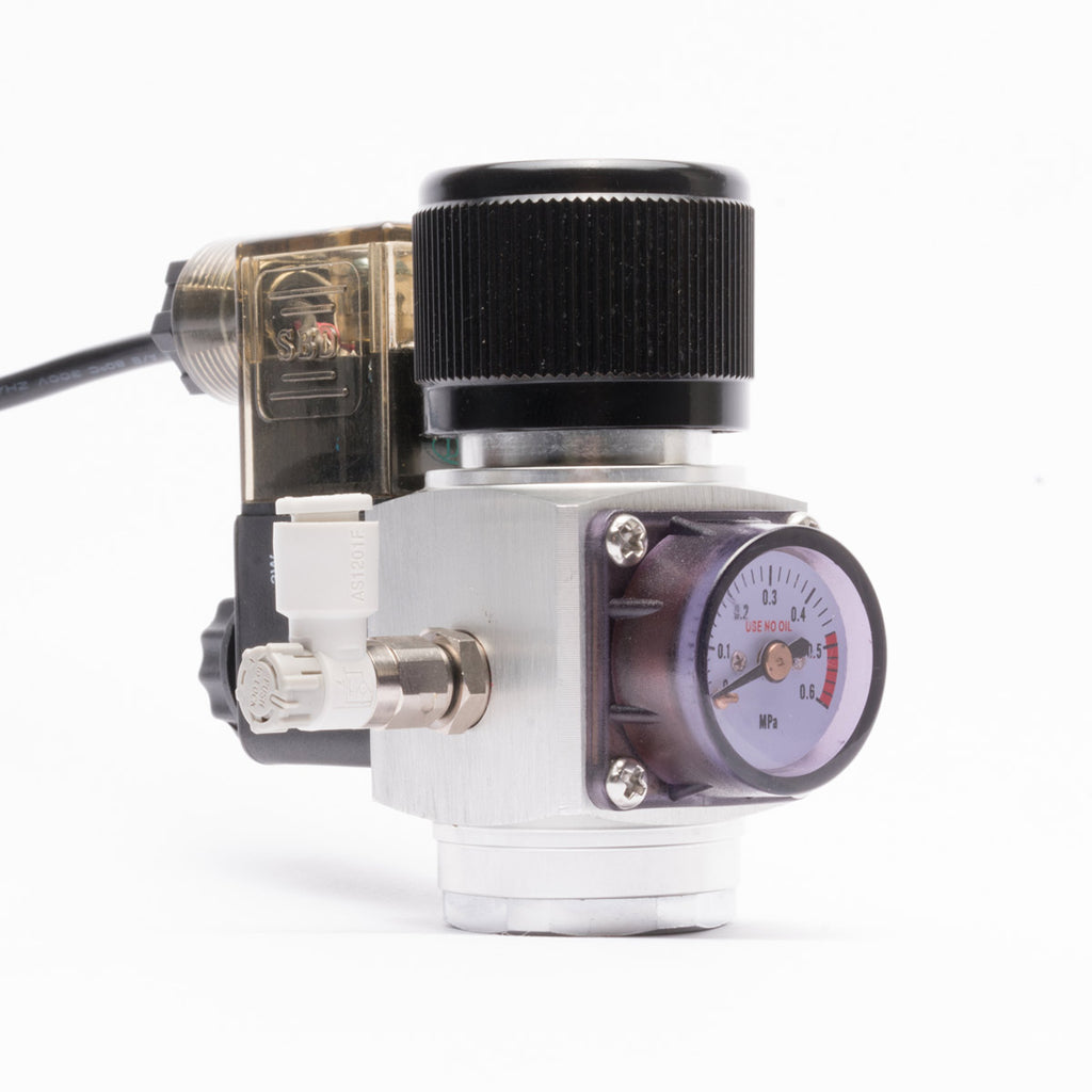 Shop UNS Mini CO2 Single Gauge Regulator CO2 - Glass Aqua