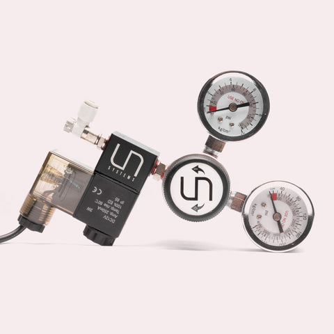 UNS Pro CO2 Dual Gauge Regulator