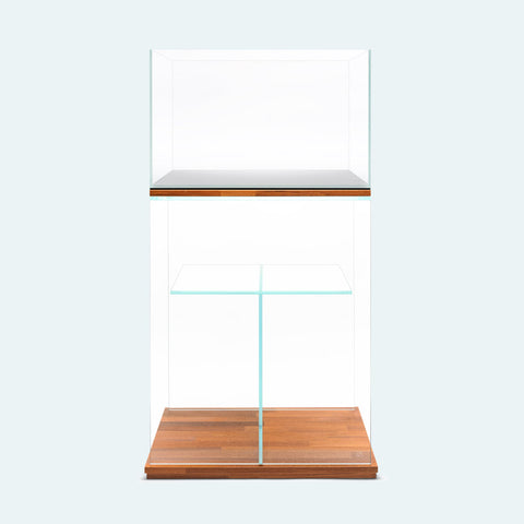 Shop Ultum Nature Systems Glass Aquarium Tank Stand Bundle Aquarium Tank Stand - Glass Aqua